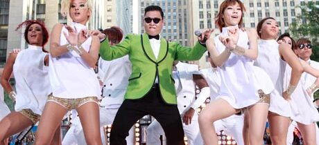 Gangnam style going crazy!