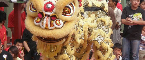 One of the best dragon dance in HK