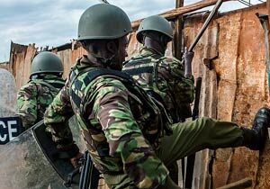 LATEST: Heavy police presence in Kenya's capital