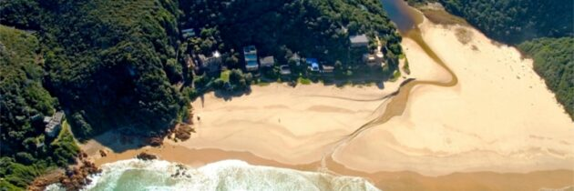 A look at Knysna's castle on the beach up for auction